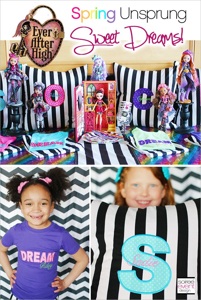 Ever After High Party Spring Unsprung Sleepover