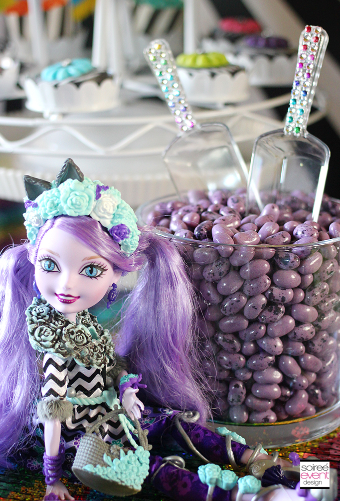 Ever After High Party Sweets Table 6