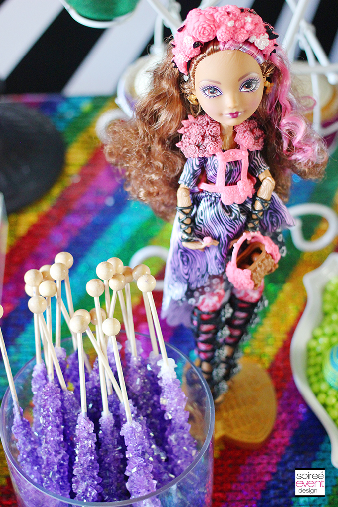 Ever After High Party Sweets Table 9