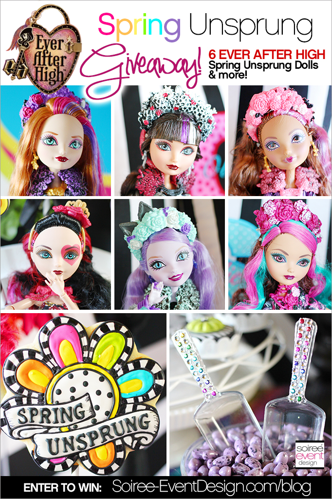 Ever After High Spring Unsprung GIVEAWAY