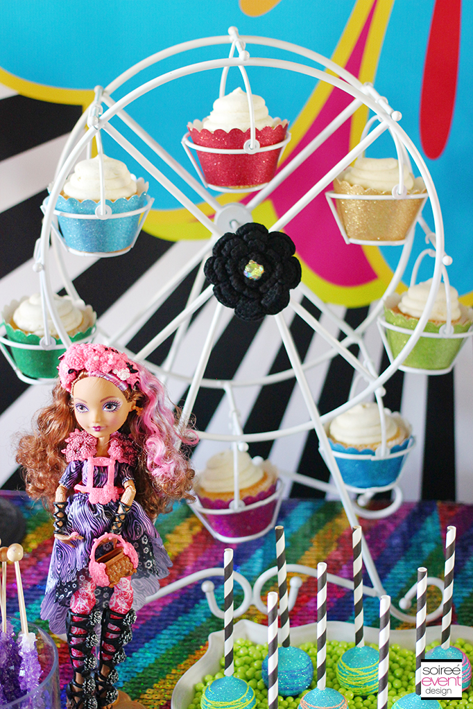 Ever After High party Sweets Table 15