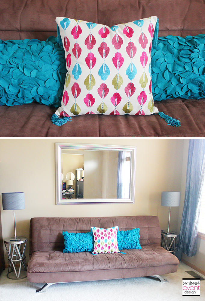 Target Home Decorating with Pillows