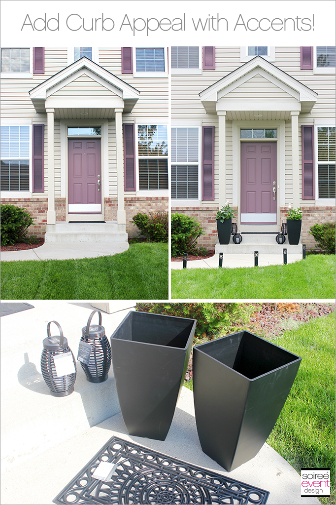 Front Porch Ideas To Add More Aesthetic Appeal To Your Home: How To Add Curb Appeal To Your Home With Outdoor Accents!
