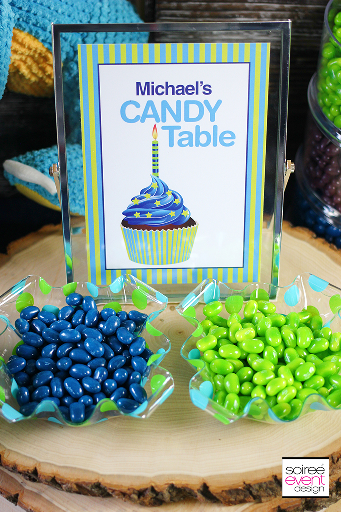 Dinosaur party Candy Table