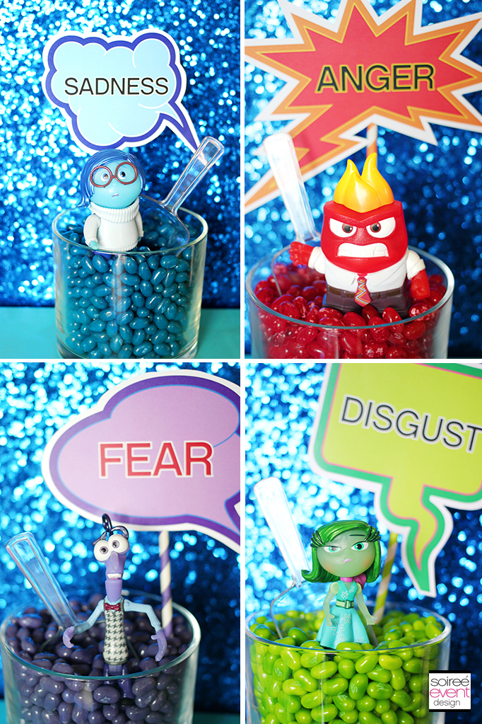 Disney Inside Out Candy Buffet 2