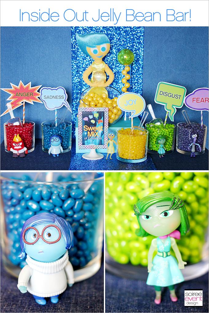 Disney Inside Out Candy Buffet