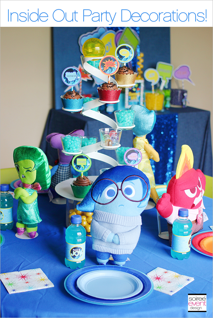 Disney Inside Out Party Decorations