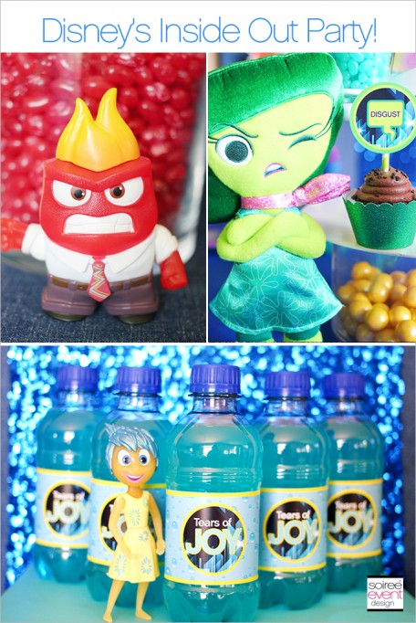 Disney's Inside Out Party Ideas