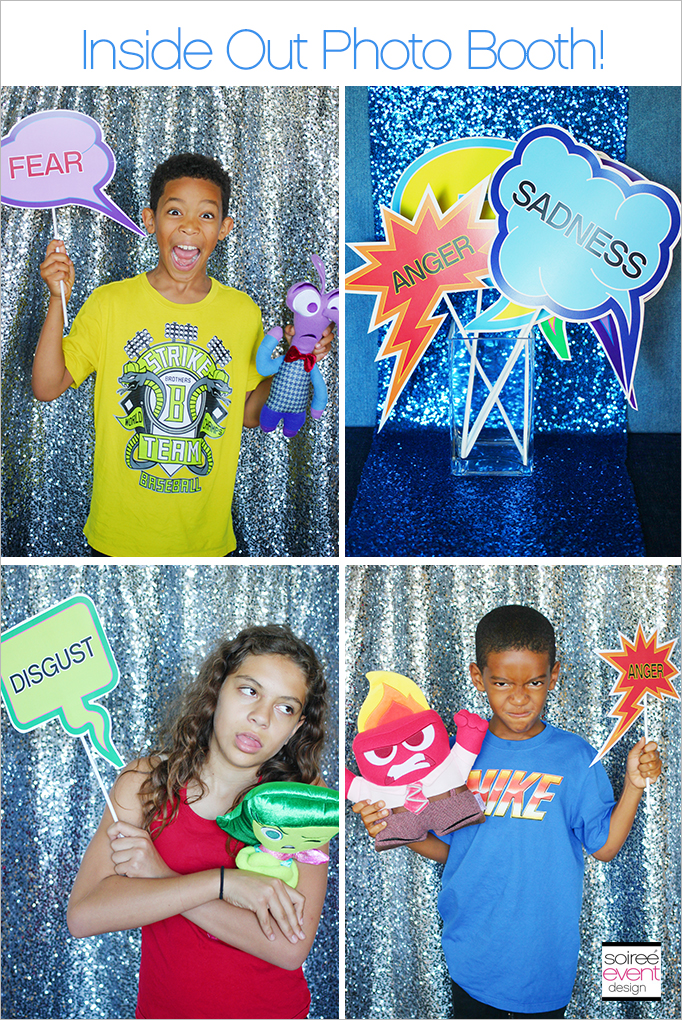 Disney Inside Out Photo Booth