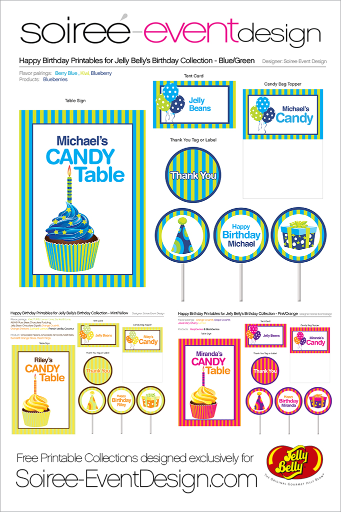Jelly Belly Happy Birthday Collection