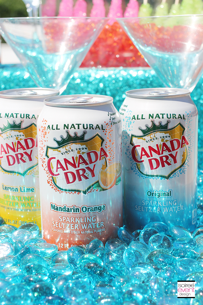 Canada Dry Flavored Seltzer Water