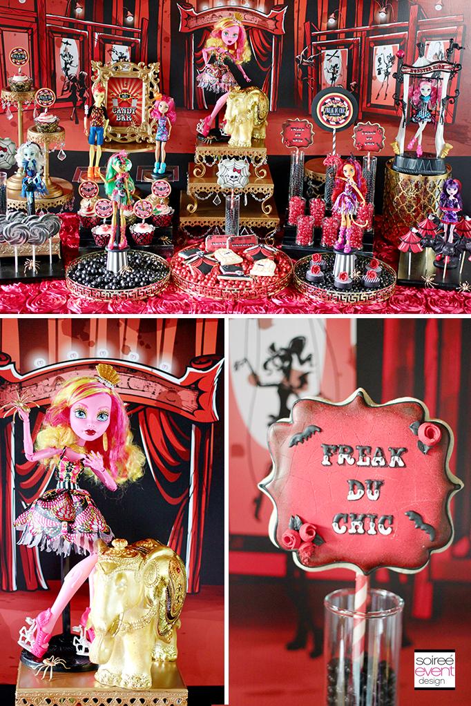 Monster High Candy Buffet