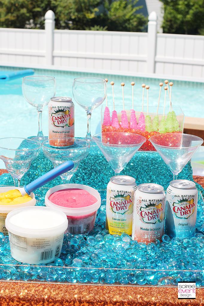 Poolside Sparkle Bar