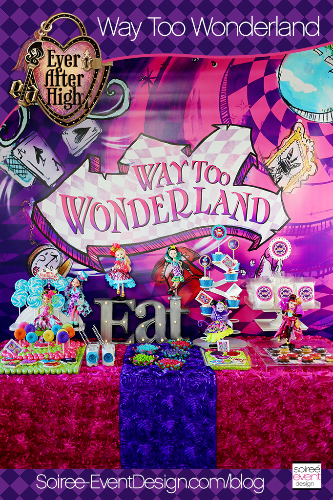 Ever After High Party - Way Too Wonderland Party