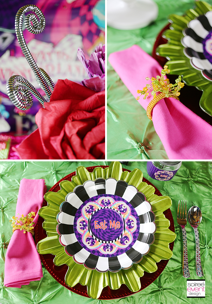 Ever After High Wonderland Party decorations