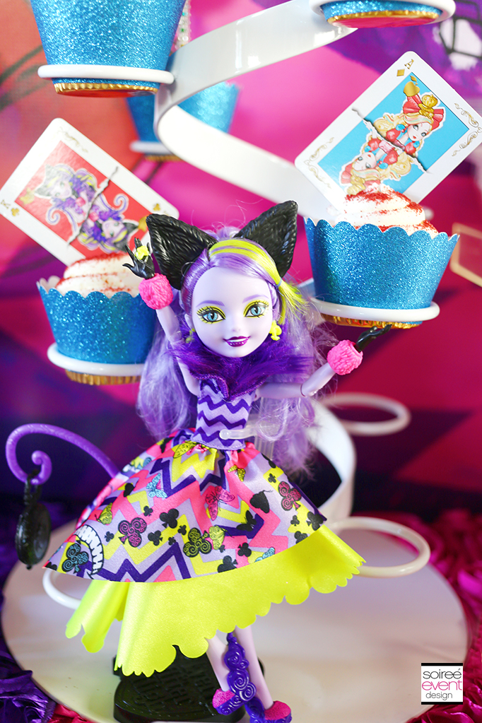 Ever After High cupcakes