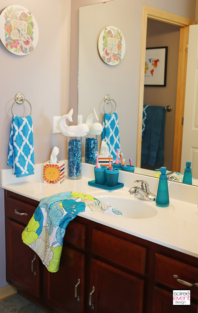 Kids Bathroom Makeover