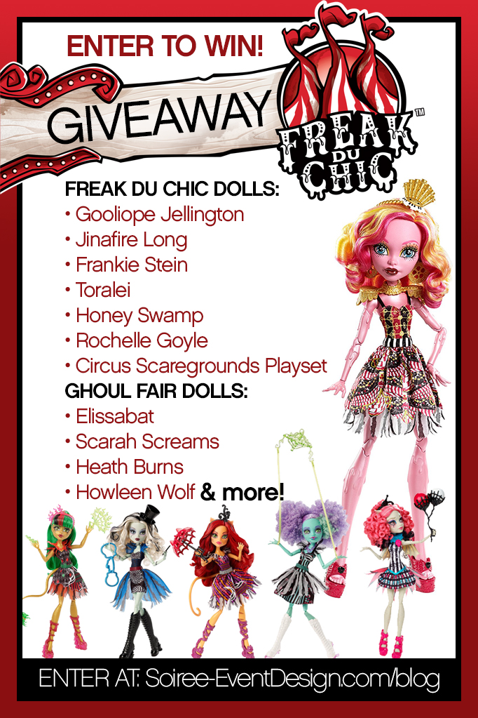 Monster High Giveaway Freak du Chic 2