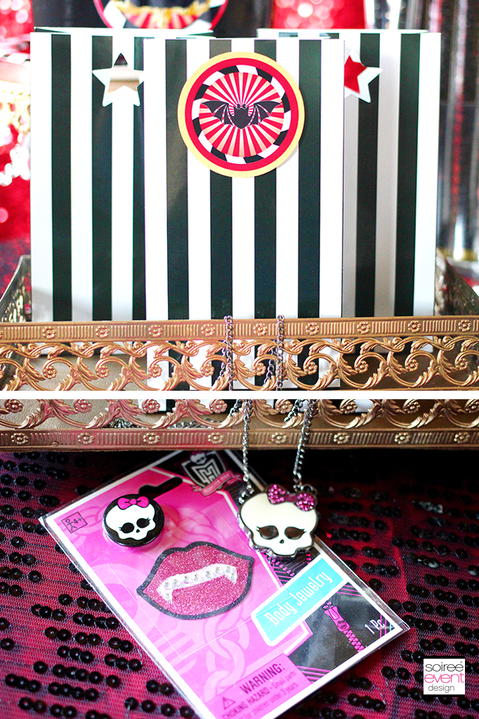 Monster High party favors 2