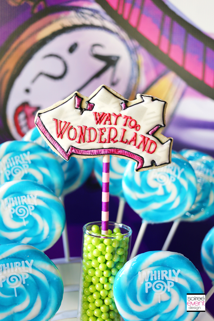 Way Too Wonderland Cookies