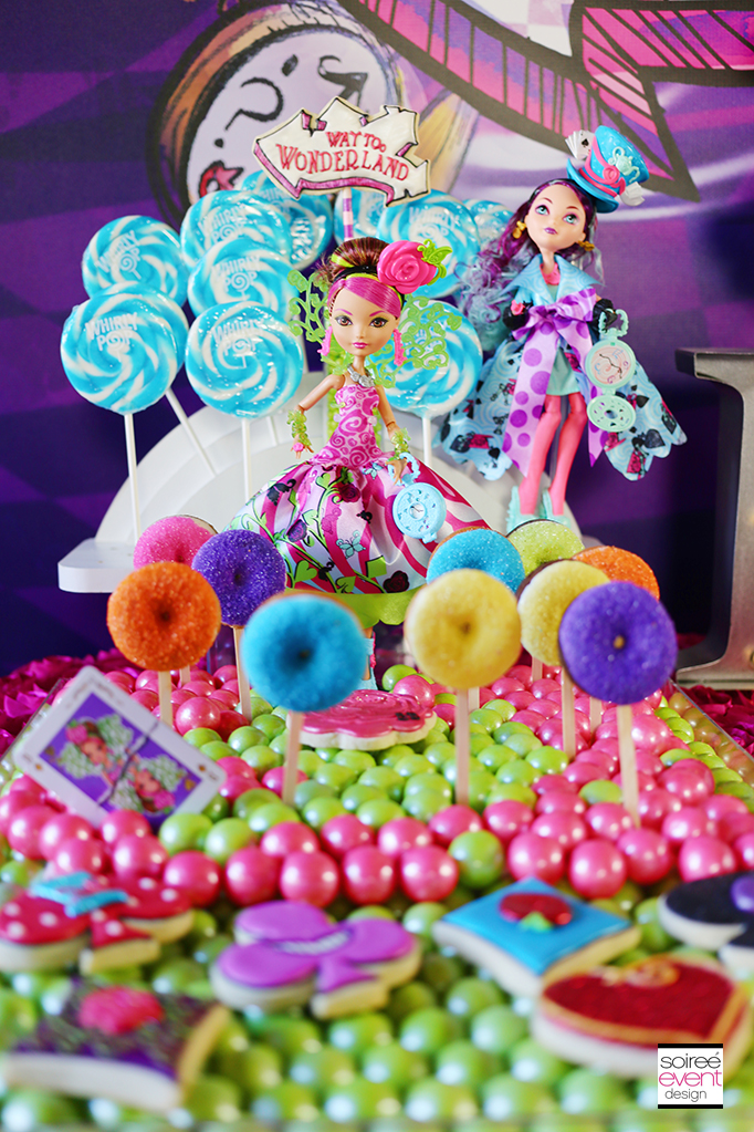 Way Too Wonderland - Ever After High Dessert Table