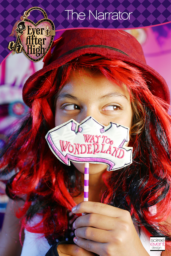 Way Too Wonderland narrator