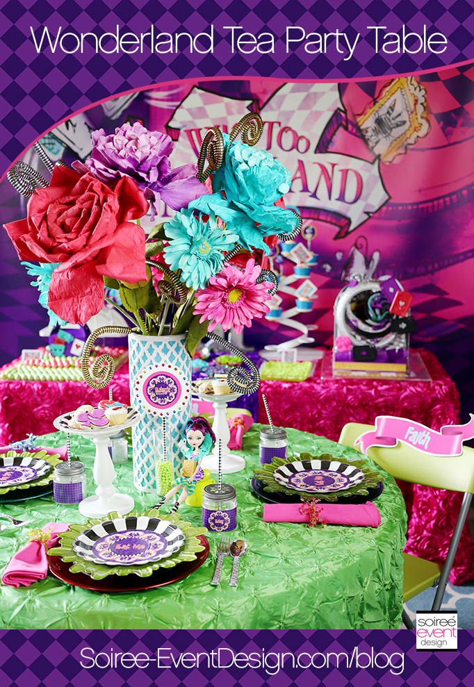 Wonderland Tea Party Table Main
