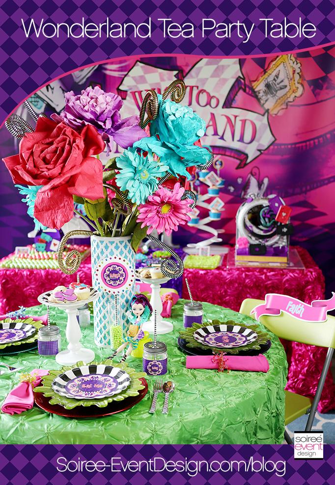 Wonderland Tea Party Table Main
