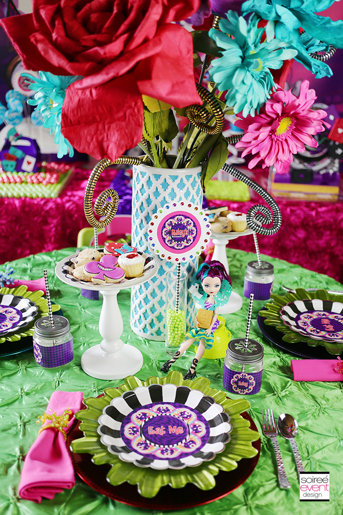 Wonderland Tea party table 2