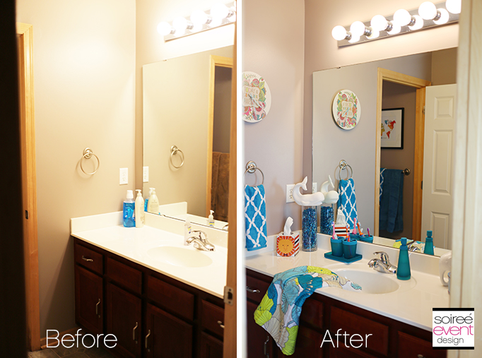 kids bathroom makeover before and after
