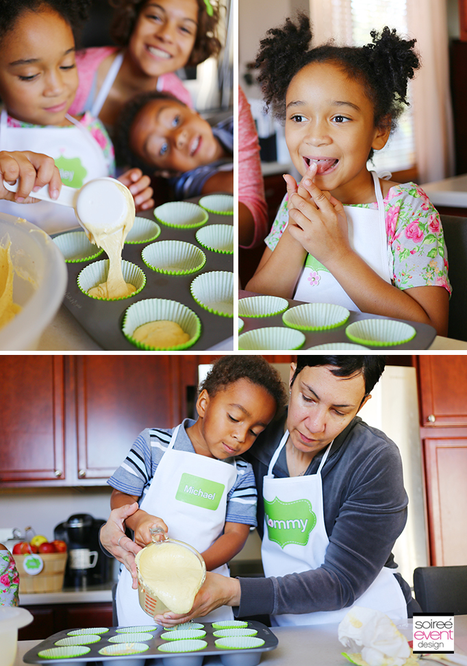 Baking Cupcakes with your kids 3