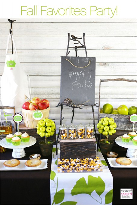 "How to Host a ""Fall Favorites"" Party!"