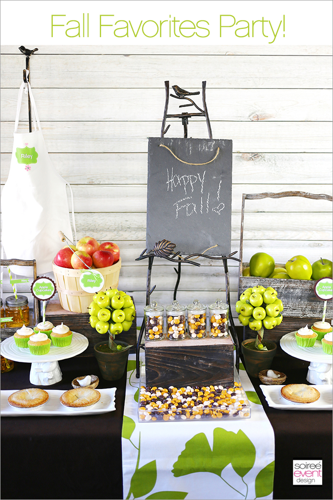 Fall Favorites Party Ideas