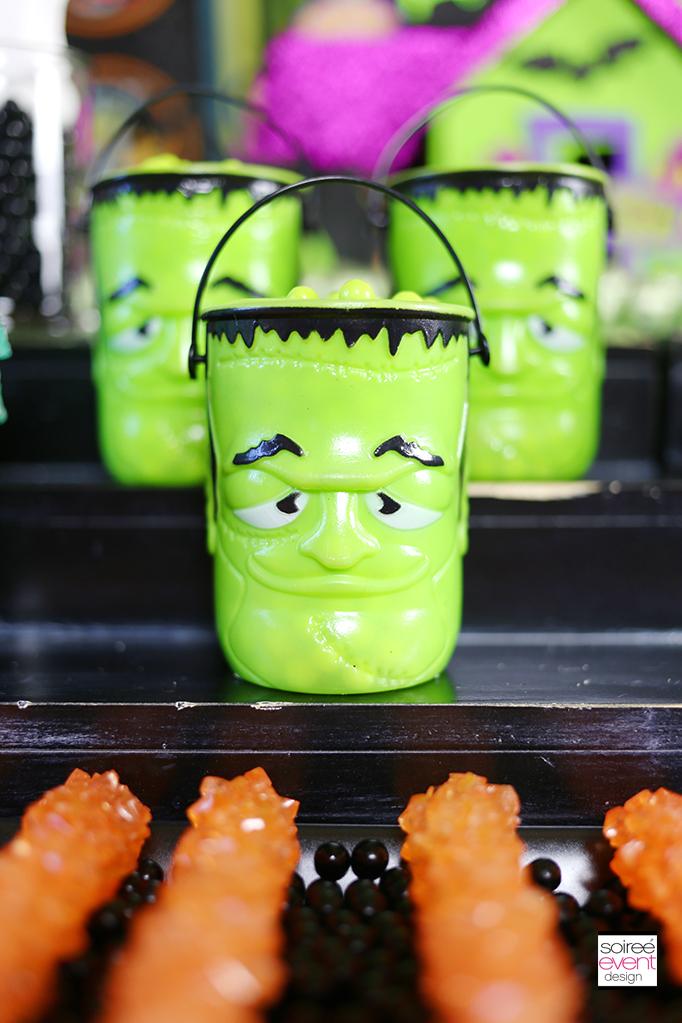 Frankenstein Monster Pails