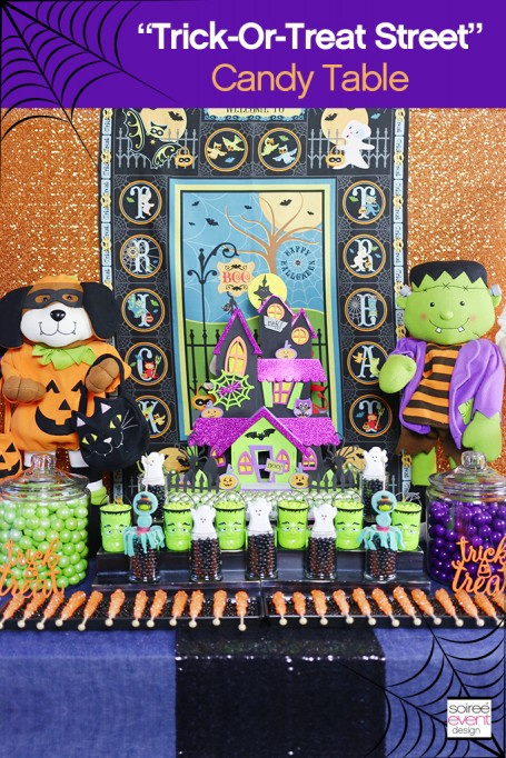 How to Setup a Trick-or-Treat Halloween Candy Table!