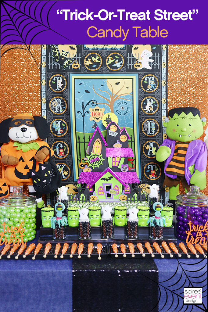 Halloween Candy Table