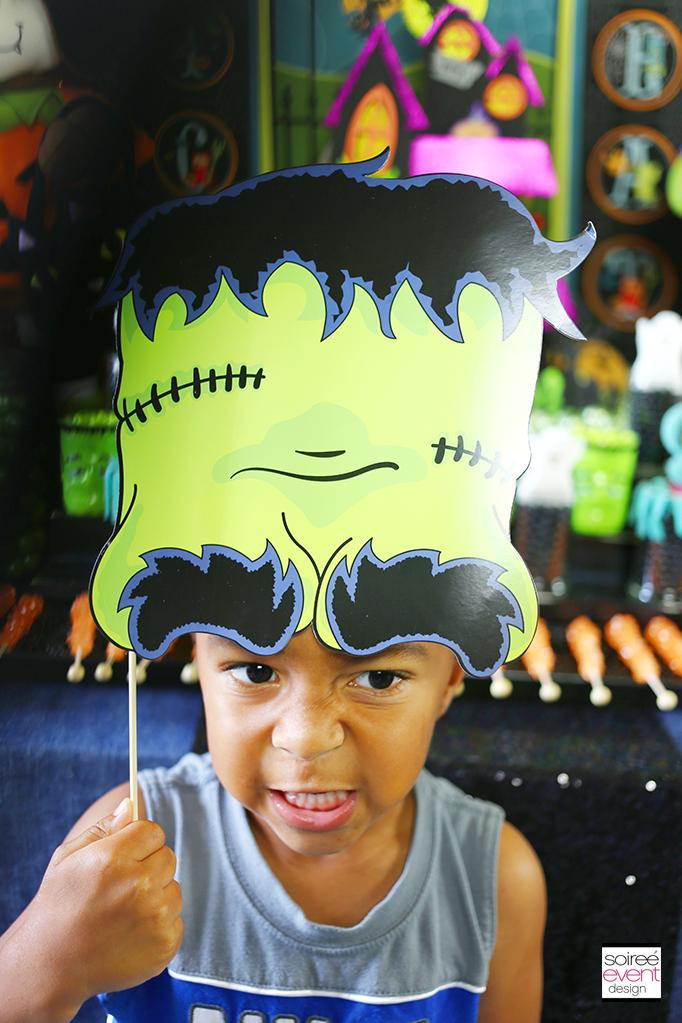Halloween Frankenstein Photo Prop