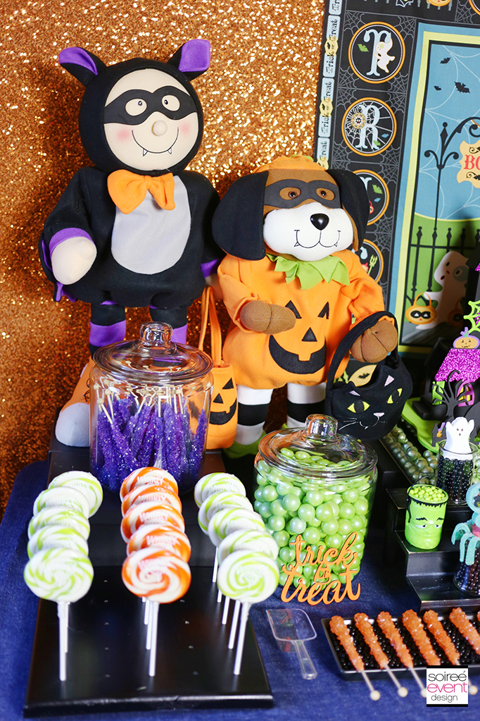 Halloween Party Candy Table