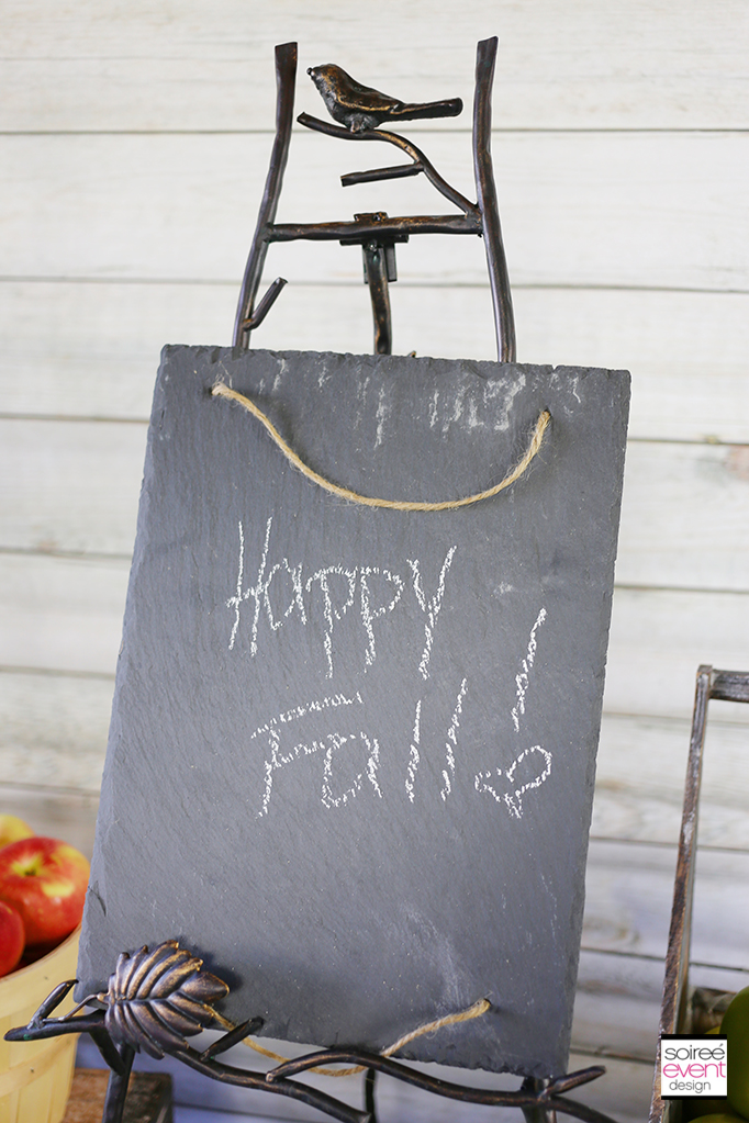 Happy Fall Chalkboard sign