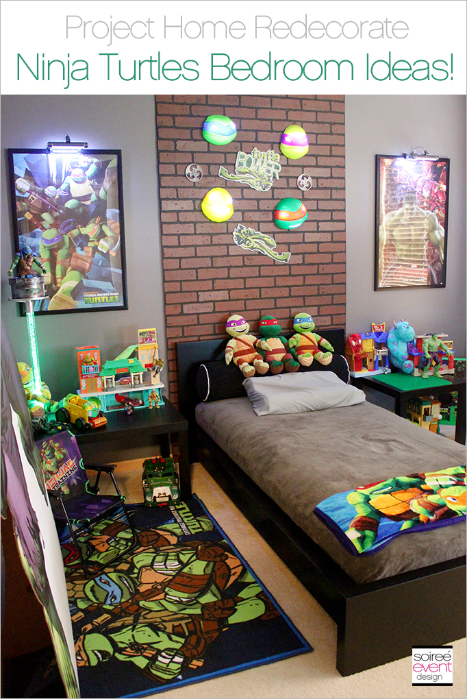 Project Home Redecorate: Ninja Turtles Bedroom Ideas - Soiree ...