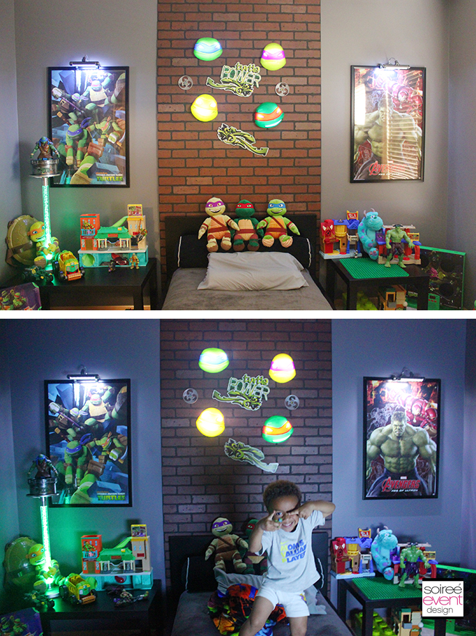 Project Home Redecorate Ninja Turtles Bedroom Ideas Soiree Event