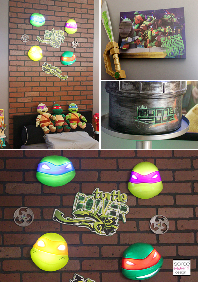 Ninja Turtle Wall Decor project home redecorate: ninja turtles bedroom ideas - soiree