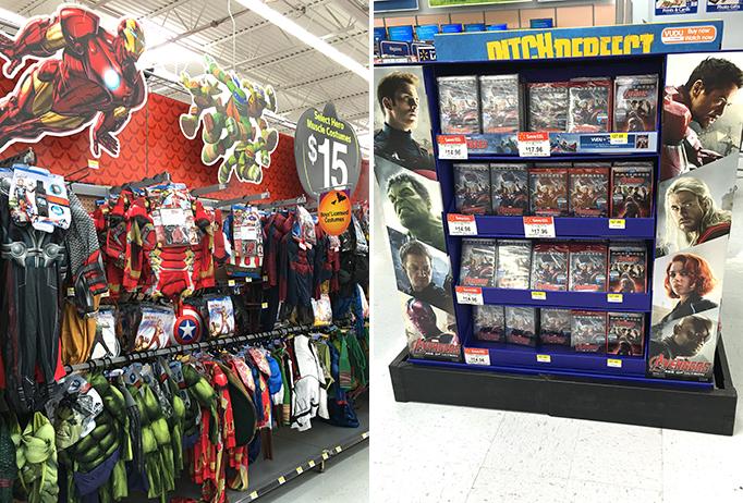 Avengers DVD Walmart