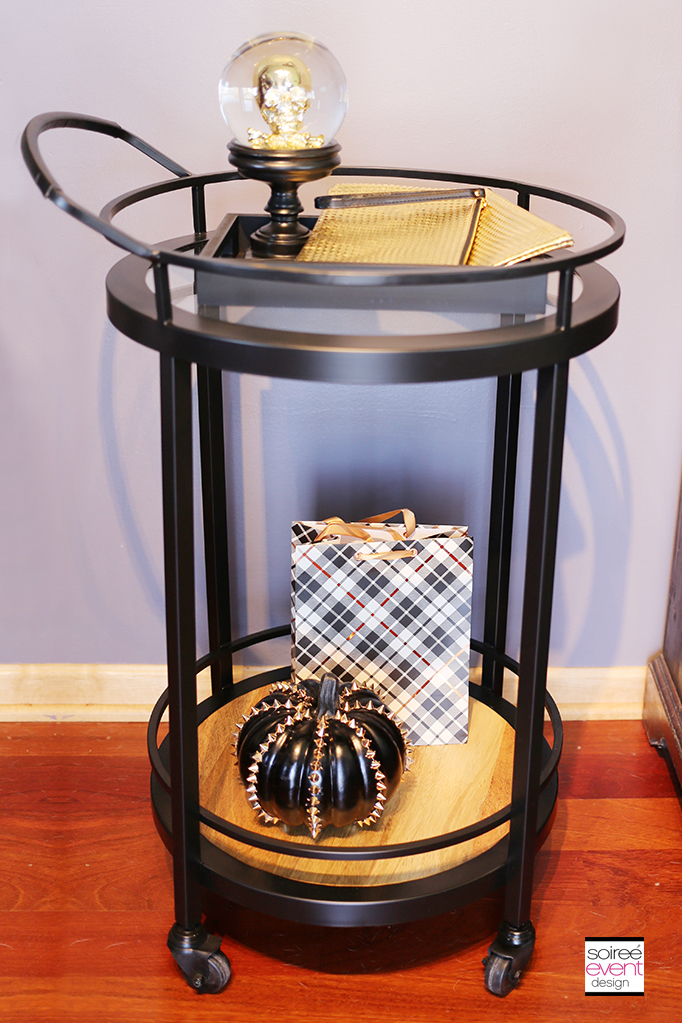 Bar cart Favor Table