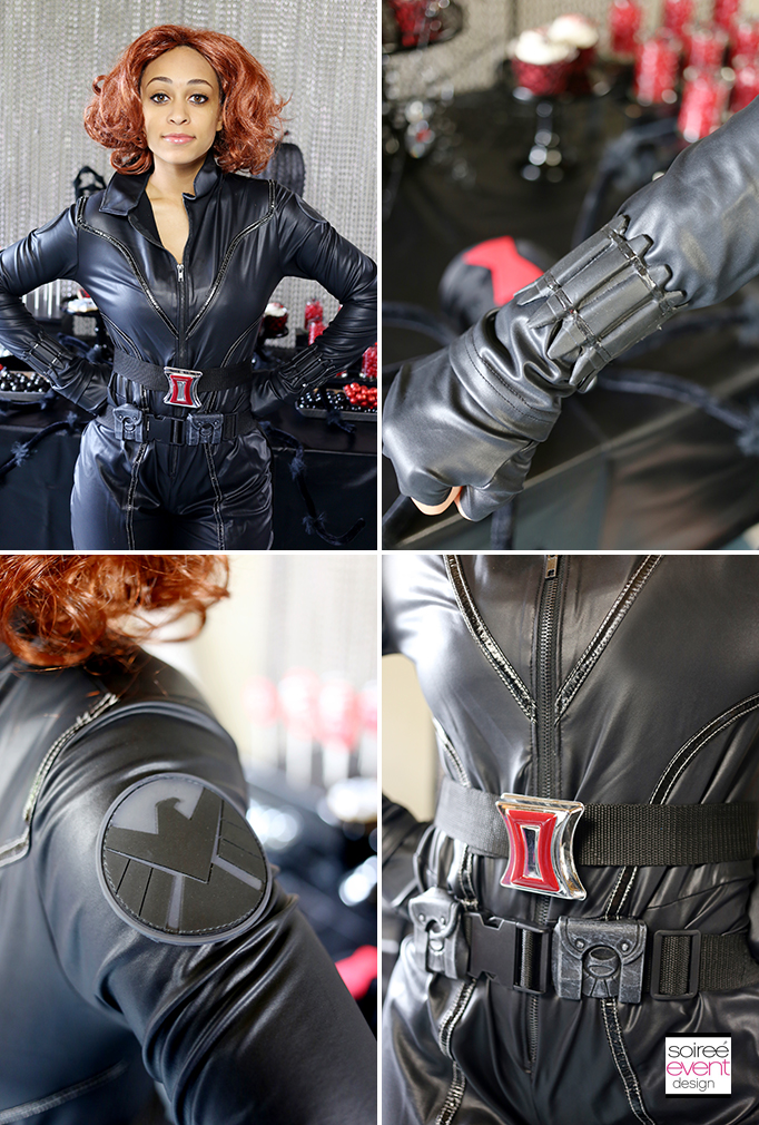Black Widow Halloween Costume Walmart