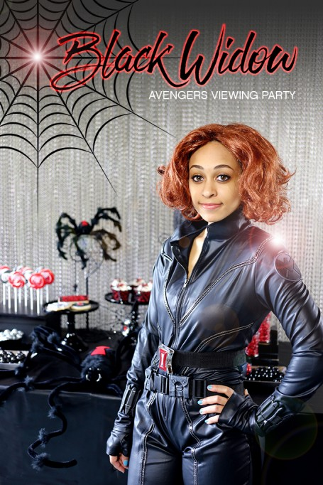 MARVEL Avengers Black Widow Viewing Party