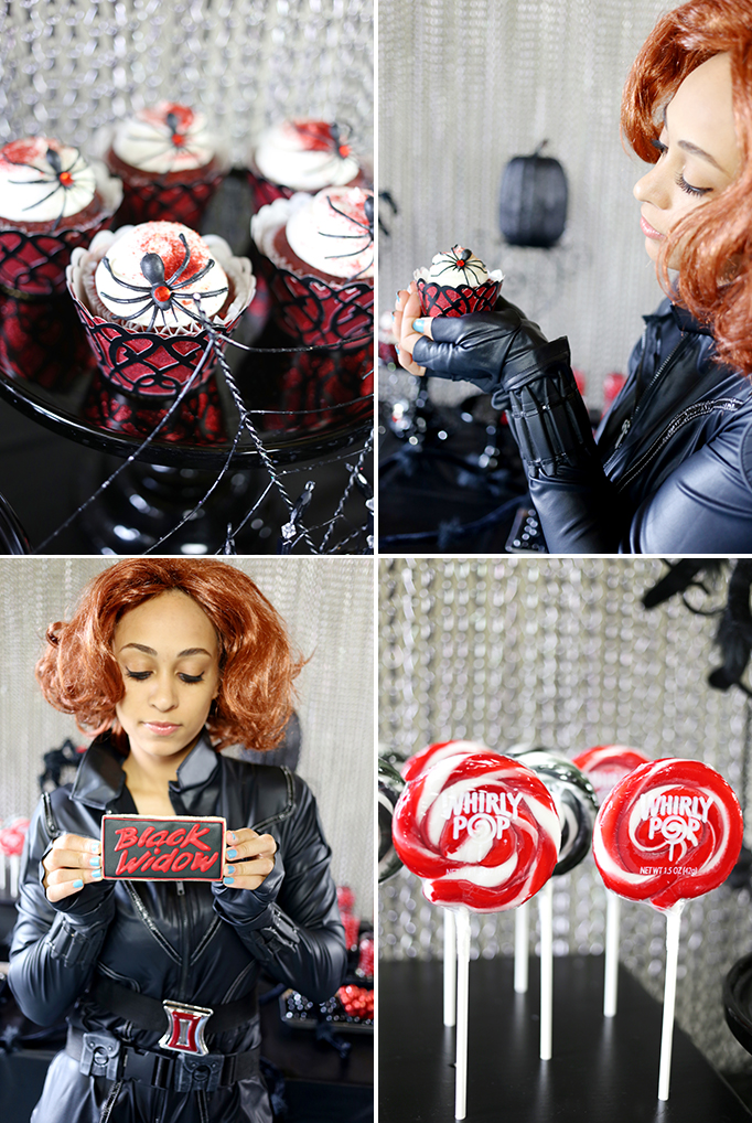 Black Widow desserts