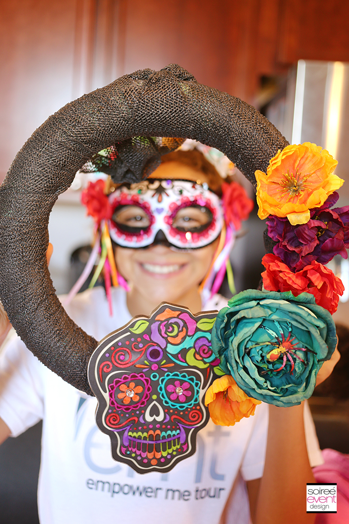 Day of the Dead Wreath DIY