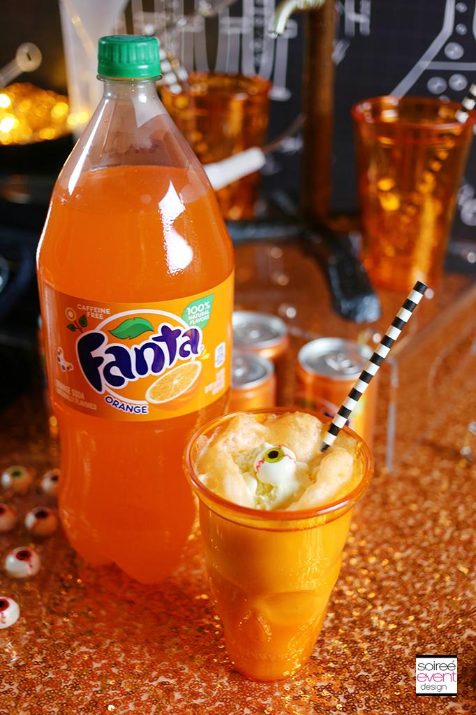Fanta Halloween Ice Cream Floats 2
