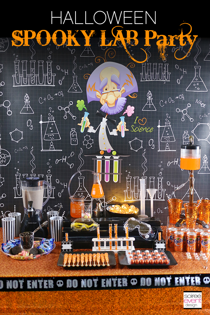 HALLOWEEN Spooky Lab Party